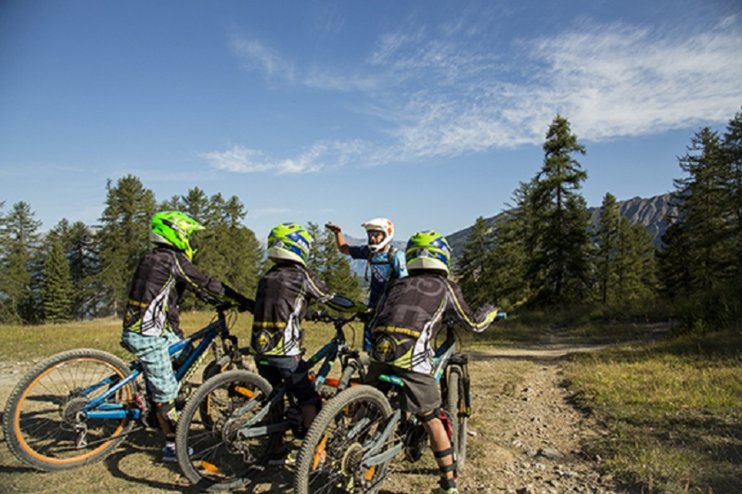 Ecole MCF- Cours particulier VTT Freeride